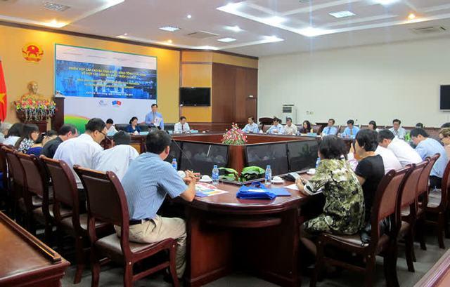 Toàn cảnh phiên họp cấp cao giữa Tổng Cục Du lịch và lãnh đạo ba tỉnh miền Tây