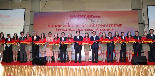 Liên doanh hàng không ThaiVietjet chính thức ra đời.