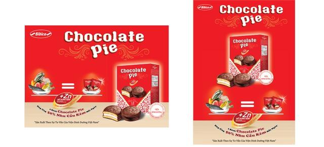 Chocolate Pie, loại bánh đầu tiên trên thị trường có bổ sung kẽm có lợi cho sức khỏe của các bé