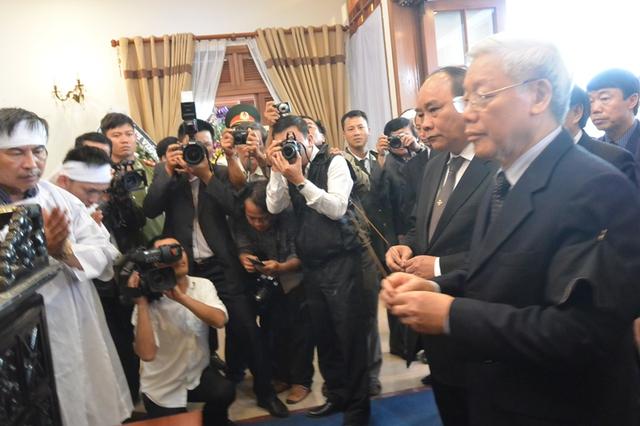 Thủ tướng Nguyễn Tấn Dũng gửi lời chia buồn sâu sắc đến gia đình ông Nguyễn Bá Thanh