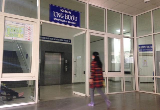Khoa Ung bướu (Bệnh viện Đà Nẵng) sẵn sàng giường bệnh nếu ông Nguyễn Bá Thanh về Đà Nẵng và được đưa vào bệnh viện để tiếp tục điều trị. Ảnh Đức Hoàng