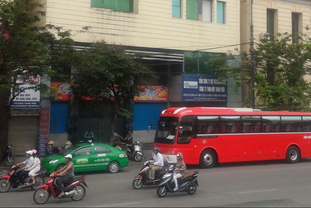 Trụ sở của Vigecam (164 Trần Quang Khải) vốn được dự kiến bán đấu giá vào ngày 5/5 tới vừa bị công ty này yêu cầu hoãn tổ chức.