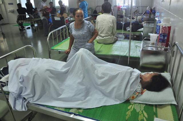 Hiện sức khỏe của các bệnh nhân đã dần ổn định, có thể xuất viện trong vài ngày tới. Ảnh Đ.H