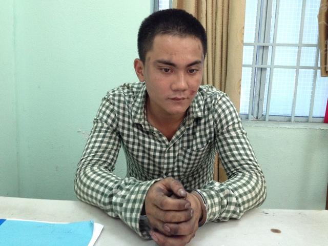 Đối tượng Vũ Quốc Trung. Ảnh Đ.H