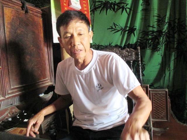 Ông Lê Văn Hoan, nguyên trưởng thôn Xuân Biều