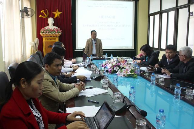 Ông Phạm Quang Ngọc - Chi cục trưởng Chi cục DS-KHHGĐ TP Hải Phòng nhận định về công tác dân số tại Hải Phòng. Ảnh: Đức Biên
