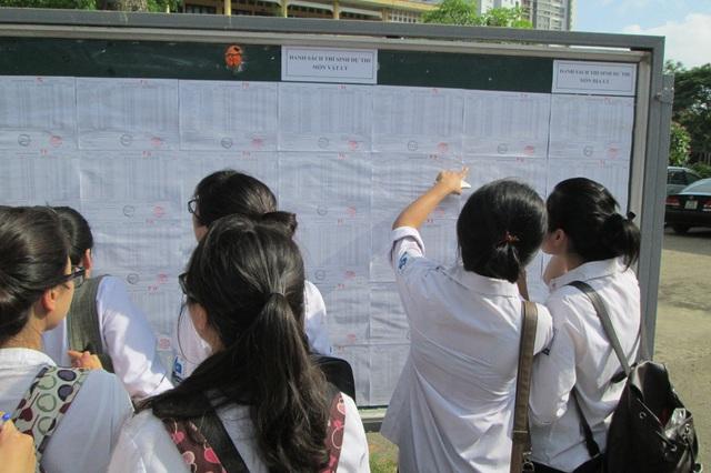 Kỳ thi THPT Quốc gia 2019 diễn ra vào cuối tháng 6 tới. Ảnh: Quang Anh