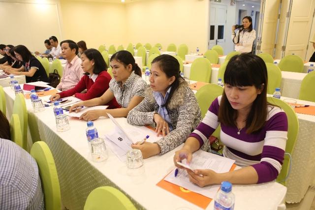 Các đại biểu, phóng viên tham dự hội thảo. Ảnh: Đức Hoàng