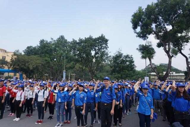 Sự kiện thu hút đông đảo học sinh, sinh viên tham gia. Ảnh: N.Mai