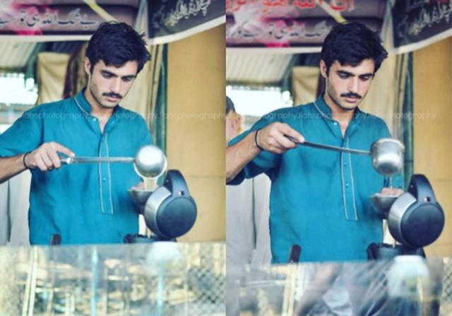 Arshad Khan, 18 tuổi, bất ngờ gây sốt nhờ vẻ điển trai sau khi lọt vào ống kính của nữ nhiếp ảnh gia Javeria Ali tại một hội chợ ở thủ đô Islamabad hồi giữa tháng.