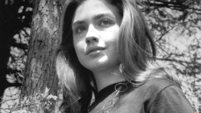 Chân dung xinh đẹp của Hillary Clinton thưở niên thiếu.