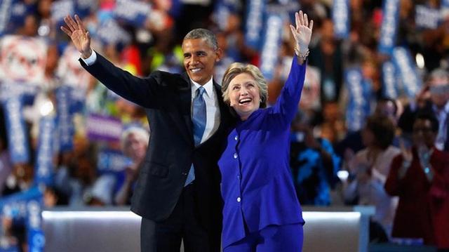 Barack Obama và Hillary Clinton luôn là hai cái tên đồng hành với nhau trên con đường chính trị của mỗi người.