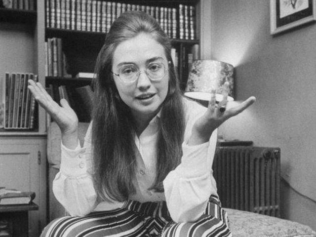 Hình ảnh bà Clinton trên tạp chí Life năm 1969.