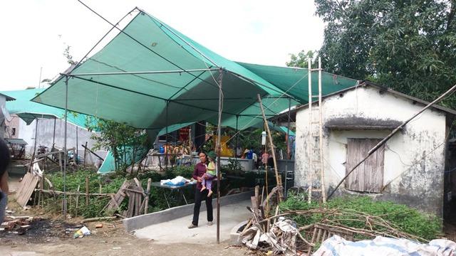 Căn nhà 3 anh em ruột tử vongTăng Văn Đượm, Tăng Văn Đươm và Tăng Văn Đới ngập tràn đau thương