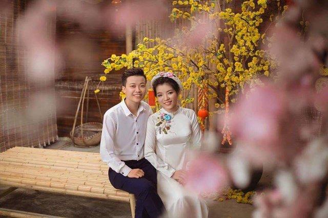 Hà trong ngày cưới với bạn cùng giới (ảnh nhân vật cung cấp).