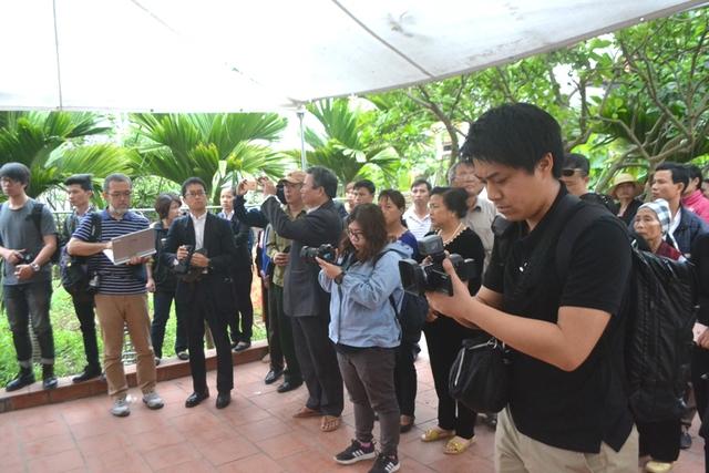 Rất đông cơ quan báo chí Việt Nam và Nhật Bản có mặt tác nghiệp