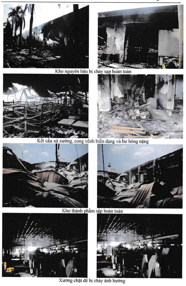 Một số hình ảnh thiệt hại của Cty Tân Thành do Công ty RACO chụp