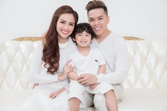 Gia đình hạnh phúc của Hoa hậu Diễm Hương