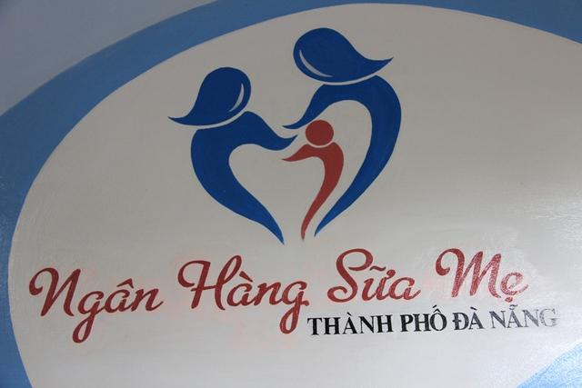 Logo của ngân hàng sữa mẹ. Ảnh: Đức Hoàng