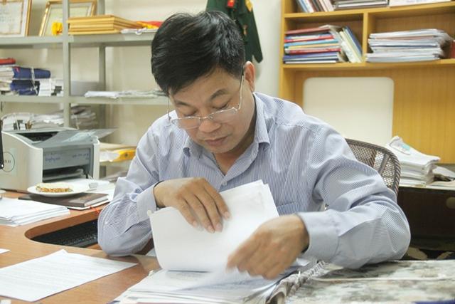 Ông Nguyễn Quang Quyết - Trưởng phòng chế độ BHXH Nghệ An giải thích rõ về trường hợp hai cô giáo nhận lương hưu 1,3 triệu đồng/ tháng.