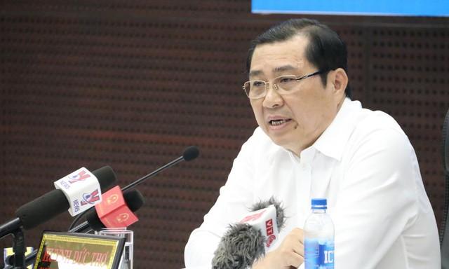 Ông Huỳnh Đức Thơ, Phó Bí thư Thành ủy, Bí thư Ban cán sự đảng, Chủ tịch UBND thành phố Đà Nẵng phải cùng chịu trách nhiệm về những vi phạm, khuyết điểm của Ban Thường vụ Thành ủy nhiệm kỳ 2015 -2020.