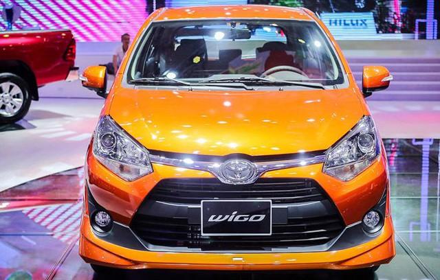 Toyota Wigo lần đầu tiên xuất hiện ở Việt Nam.