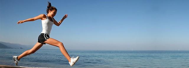 Theo đuổi một môn thể thao lâu dài rất tốt cho sức khỏe. Ảnh: Body Wisdom.