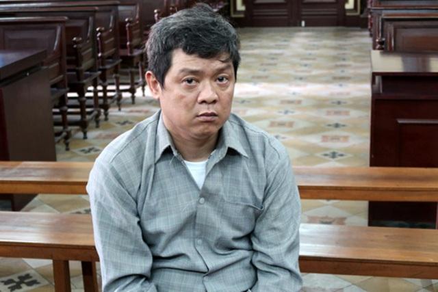 Bị cáo Trung tại phiên tòa.