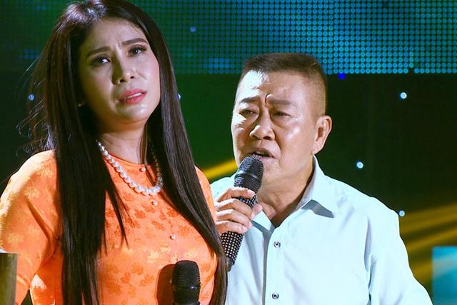 Lý Hương và bạn diễn Vũ Thanh.
