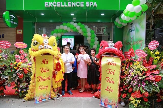 Cơ sở số 6 Excellence Spa tại Hoàng Cầu khai trương chính thức hoạt động từ ngày 9/5