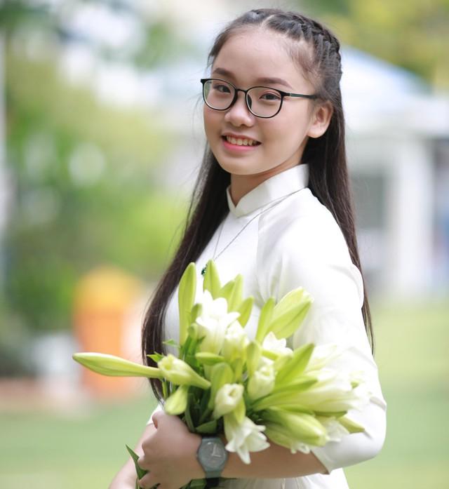 Nữ sinh ấp ủ ước mơ du học Australia. Ảnh: NVCC.