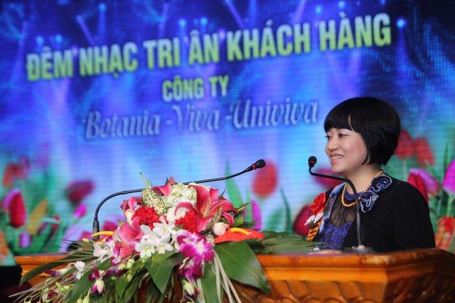 Chị Phạm Thanh Thủy, CEO của công ty TNHH Botania