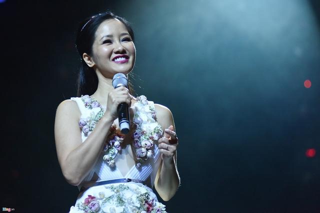 Hồng Nhung là một trong những ca sĩ đắt show khách mời đêm nhạc tại Hà Nội. Ảnh: Việt Hùng.