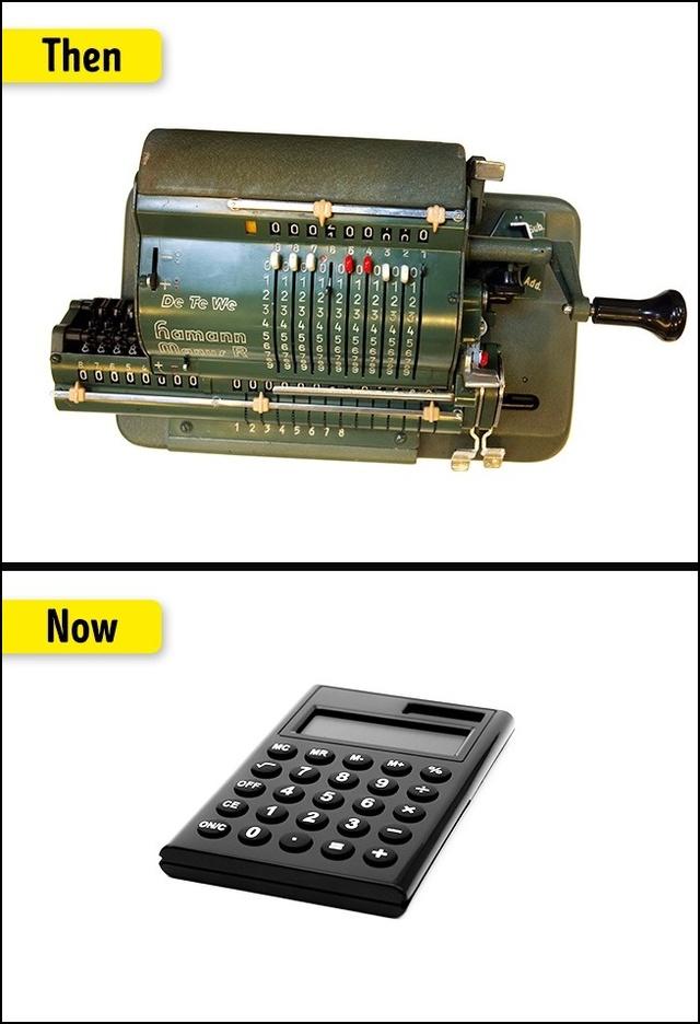 Máy tinh ngày xưa phụ thuộc nhiều vào người dùng hơn là độ chính xác của chính chiếc máy.