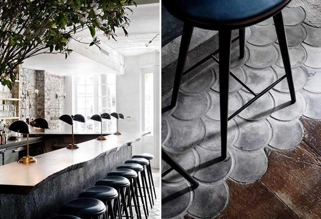Khi bạn đang thiết kế nhà mình, đừng e ngại về việc thể hiện nét độc đáo, phong cách và cá tính của mình qua bất kỳ điều gì. Nếu bạn cảm thấy thích đặt những viên gạch men hình vảy cá này trên sàn nhà ngay cạnh những tấm sàn gỗ, vậy thì hãy thoải mái làm điều đó. Kết quả mang lại có thể sẽ khiến bạn ngạc nhiên với sự độc đáo, tinh tế và đặc biệt mà chúng tạo nên.