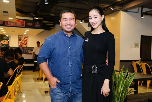 Maya cùng đạo diễn Lý Minh Thắng.