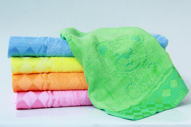 Khăn dệt từ sợi tre là lựa chọn tối ưu cho sức khỏe trẻ em