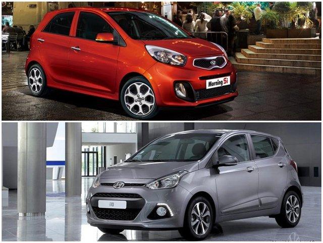 Phân khúc xe nhỏ hạng A đang có sự cạnh tranh khốc liệt giữa 2 thương hiệu đến từ Hàn Quốc .