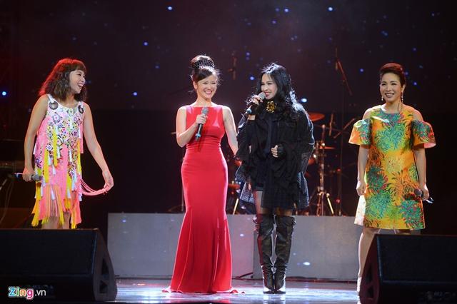 Thời hoàng kim của Thanh Lam, Hồng Nhung, Mỹ Linh và Hà Trần là thập niên 90, những năm 2000. Hiện tại, các diva có những ấp ủ âm nhạc nhưng ít ra ca khúc mới. Ảnh: Anh Tuấn.