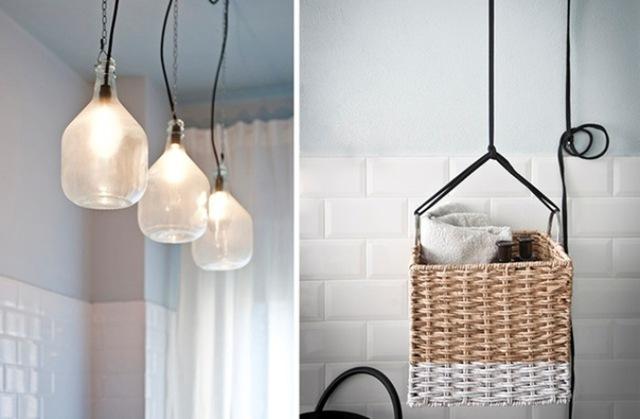 Hệ thống dây đèn được lắp đặt bên ngoài, giúp mang đến vẻ đẹp đậm chất Vintage, nét gần gũi dịu dàng cho không gian nhỏ.