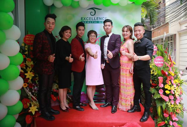 Tuấn Phương, Duy Phan cùng các nghệ sĩ góp mặt để chung vui cùng Excellence Spa