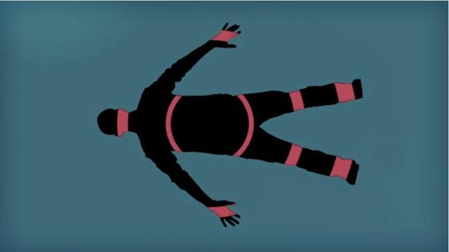 Lực tác động sẽ tỏa đều khắp cơ thể thay vì tác động lên một một bộ phận duy nhất.