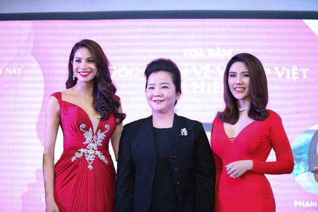 Bà Xuân Trang là một trong những vị giám khảo quyền lực của Hoa hậu hoàn vũ.