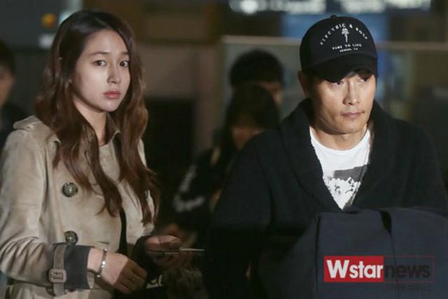 Lee Min Jung phải ra nước ngoài một thời gian cùng Lee Byung Hun vì scandal ngoại tình của chồng
