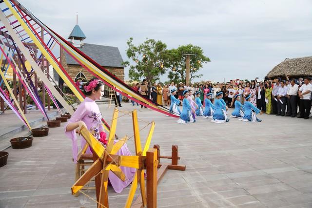 Công viên Ấn tượng Hội An những ngày này cũng diễn ra nhiều hoạt động văn hóa