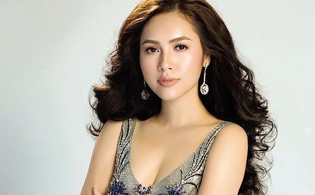 Á hậu Hoàng My từng bị mất điểm trong mắt công chúng vì phát ngôn trên Facebook. ẢNh: TL