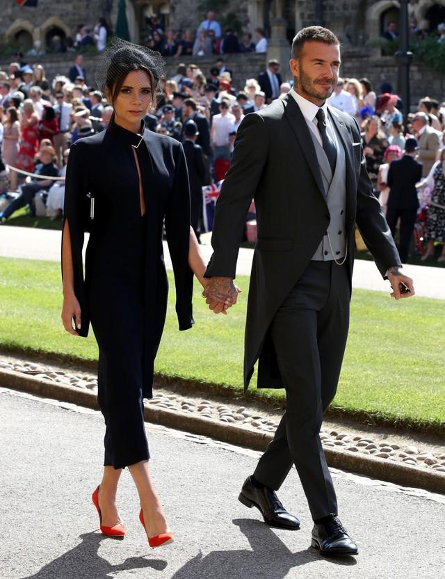 Vợ chồng Beckham.