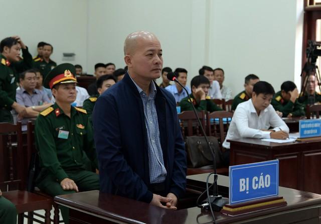 Ông Hệ tại phiên xét xử (ảnh PV)