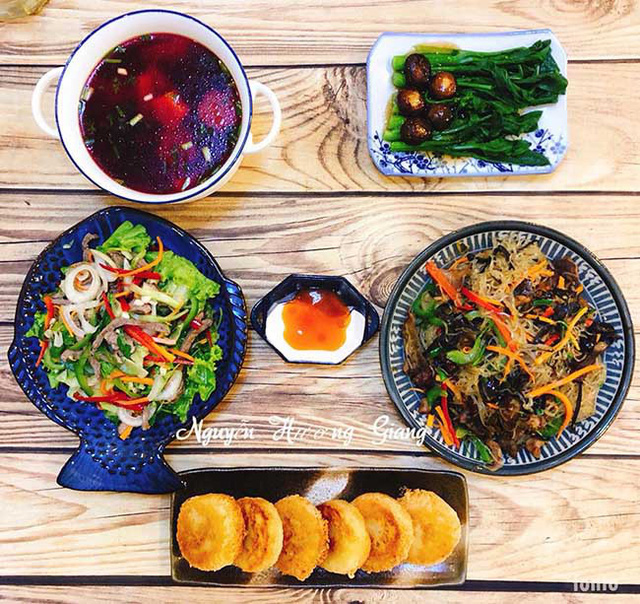 Điểm 10 cho bữa cơm nhà chị Giang