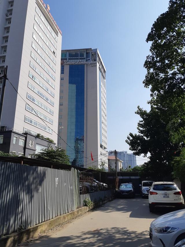 Tòa nhà Tổng cục Dân số 5 năm không có đường.